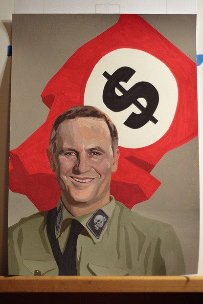 NZ Prime Minister, John Key, psychopath I reckon
