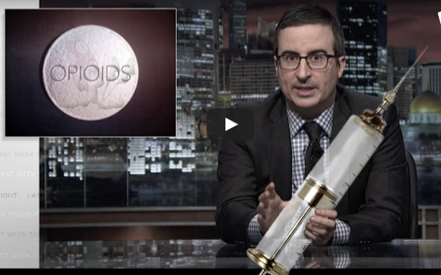 John Oliver Does Drugs