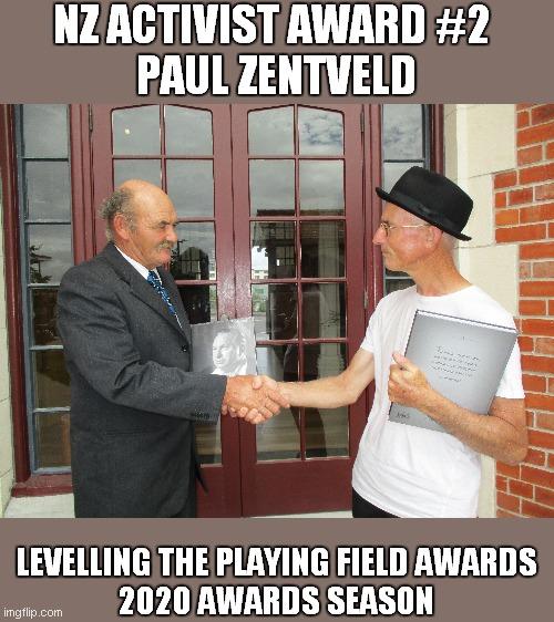 nigels award 2